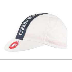 Castelli Retro 3 Berretto, 50's washed white/anthracite